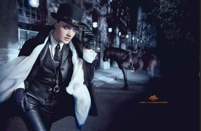 Hermes Fall Winter 2010-11 campaign