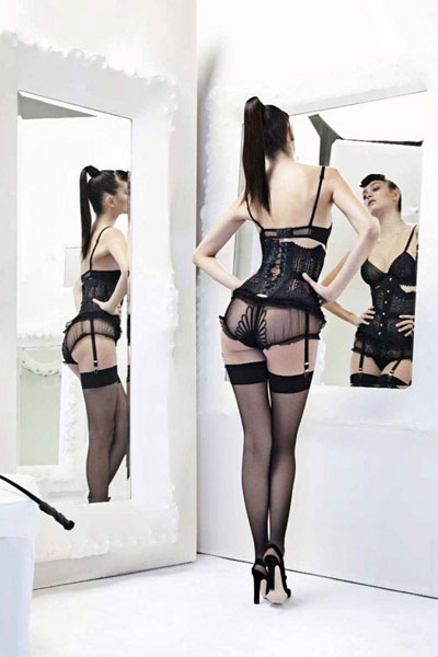 Jean Paul Gaultier and La Perla lingerie
