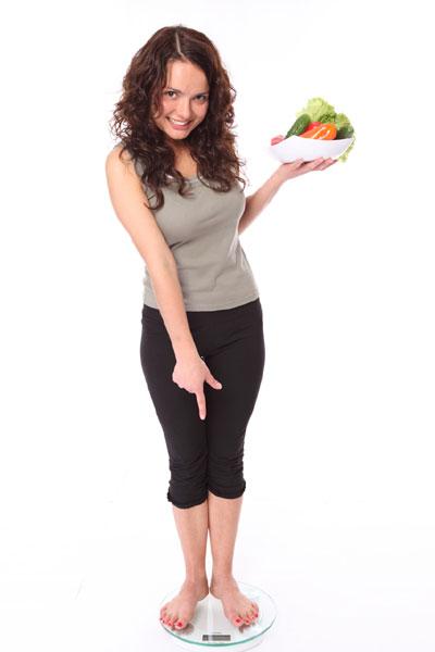 Woman, weightloss