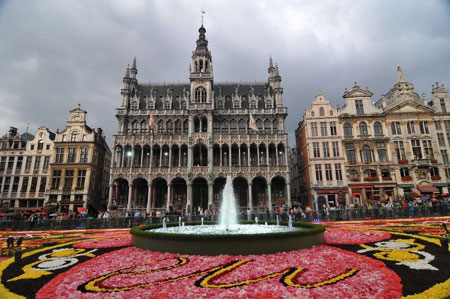 Brussels Grand Place Carpet 2010