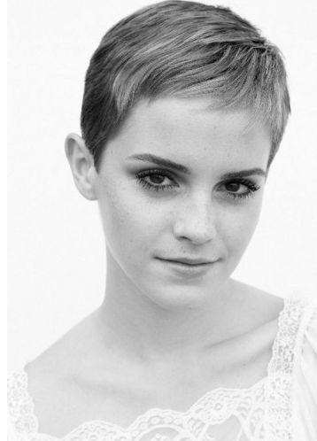 Emma Watson short haircut