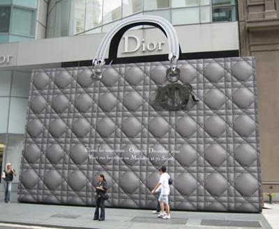 Giant Dior Purse