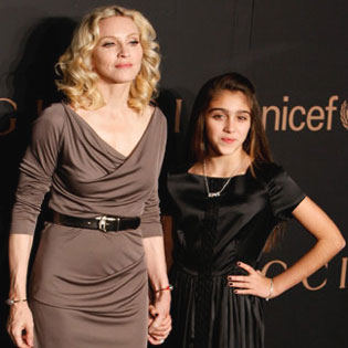 Madonna and her daughter Lourdes