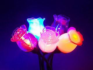 USB Rose Lamp