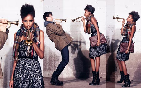 LookBook for Fall Collection Marc by Marc Jacobs