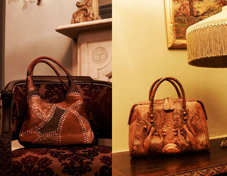 Carlos Falchi handbags F-W 2010-11