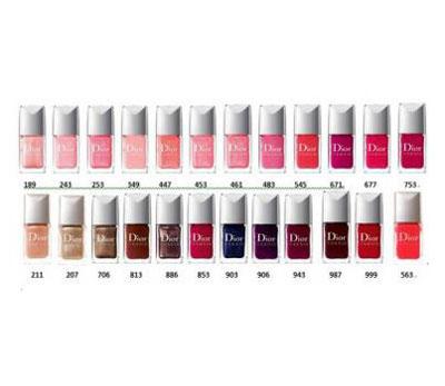 Dior Vernis Nail Polish Colours - Best Nail ImageBrain.Co