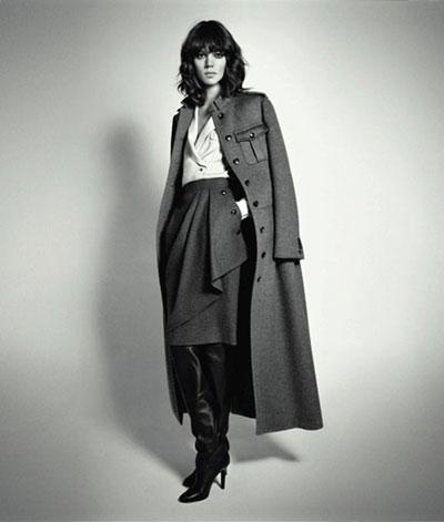 Max Mara F-W 2010-11 ad campaign