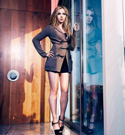 Scarlett Johansson Mango-F-W 2010-11 collection