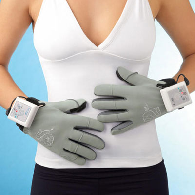 Vibrating Massage Gloves