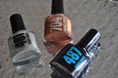 Volvo S60 Nail Polishes
