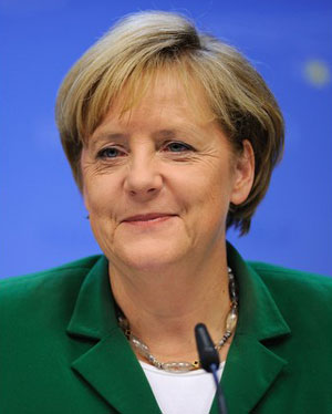 Angela Merkel is the most powerful woman 2012