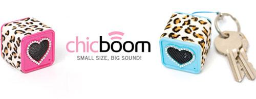 Chicboom keychain speakers