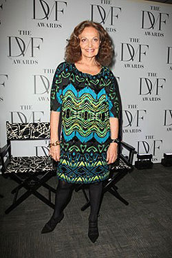 Diane von Furstenberg to Launch Her Own Cosmetics Line and Fragrance