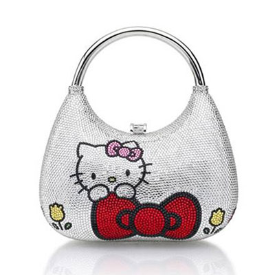Hello Kitty accessory set by Judith Leiber