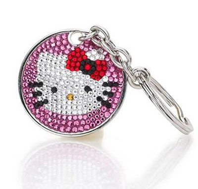 Hello Kitty, Pink keychain