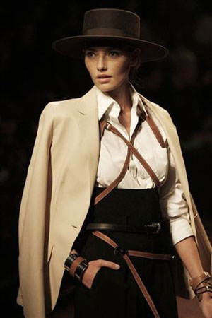 Hermes collection S-2011 by Jean Paul Gaultier