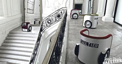 Jean Paul Gaultier and Roche Bobois furniture