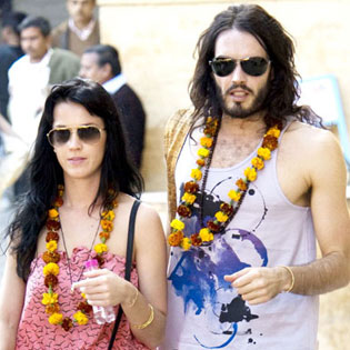 katy perry and russell brand married in india? | celebrity