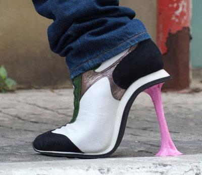 Kobi Levi Chewing Gum shoes