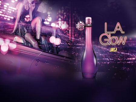 LA Glow JLo fragrance