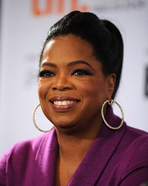 Oprah Winfrey is a powerful woman