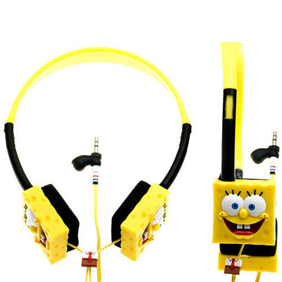 Sponge Bob Square Pants B-Y Headphones