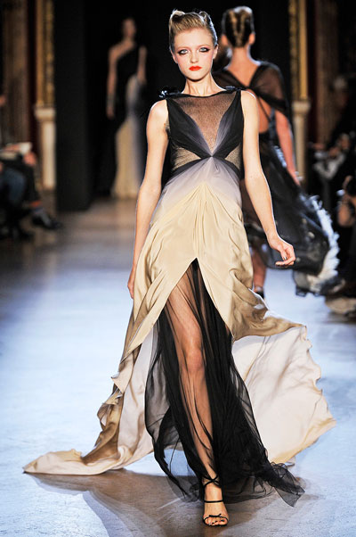 Zac Posen S-2011 collection