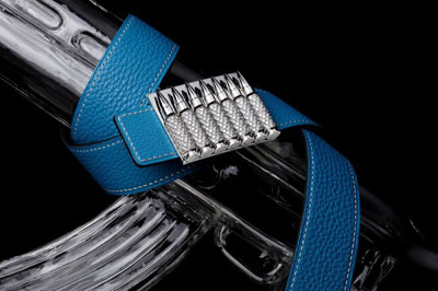 Akillis Aligator Leather Belt