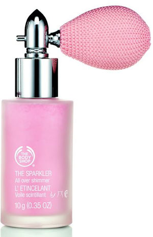 Body Shop Christmas Palette, body spray