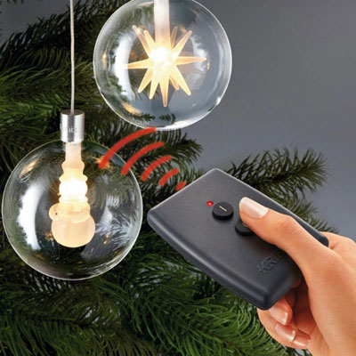 Remote-Controlled LED Decorations for Christmas Trees | Gadgets ...