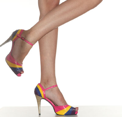 images of High Heels Twisted Ankles