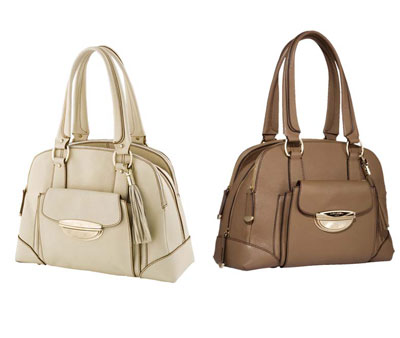 Isabelle Adjani handbags from Lancel