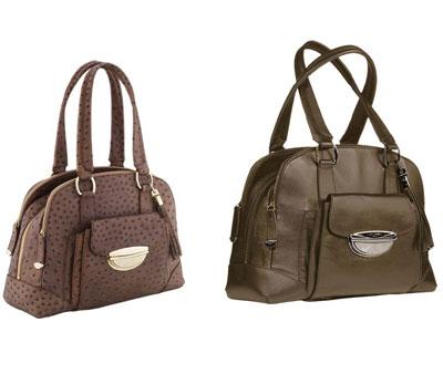 Isabelle Adjani handbags from Lancel