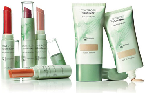 CoverGirl Nature Luxe makeup collection