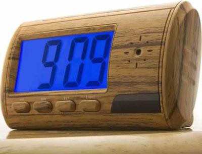 Alarm Clock with Spy Camera