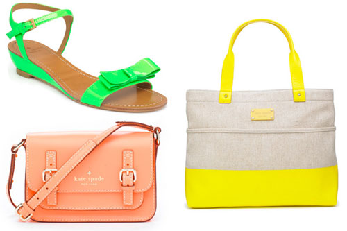 'Candy-colored' Kate Spade Accessories for Spring 2011