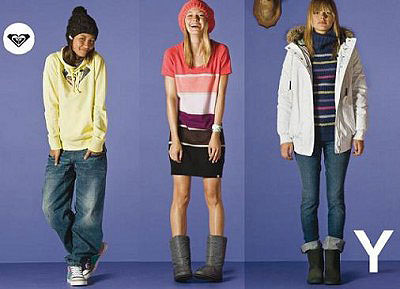 Roxy Presents New Winter Collection