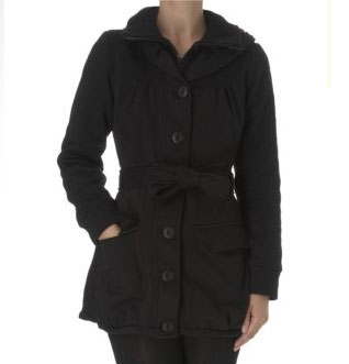Black Coat for Winter