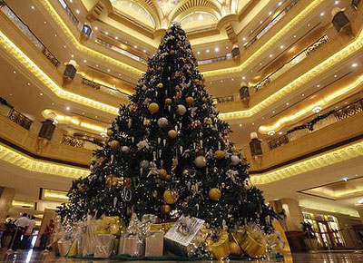 Emirate Palace The Most Expensive Christmas Tree