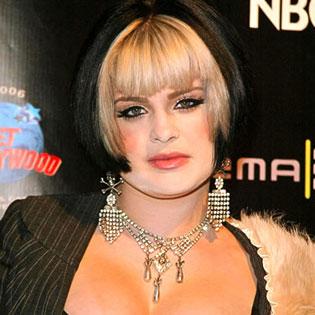 Designer Kelly Osbourne