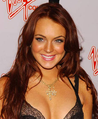 brown red hair lindsay lohan. Lindsay+lohan+hair+color+
