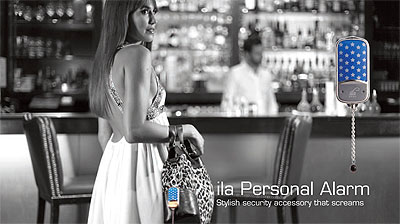 How to Wear Ila Dusk Personal Alarm