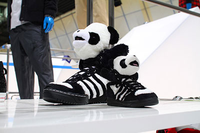 Jeremy Scott Panda Sneakers