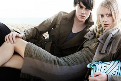 Burberry Spring-Summer 2011 collection