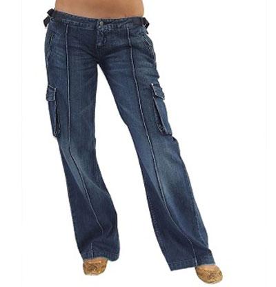 Women cargo jeans
