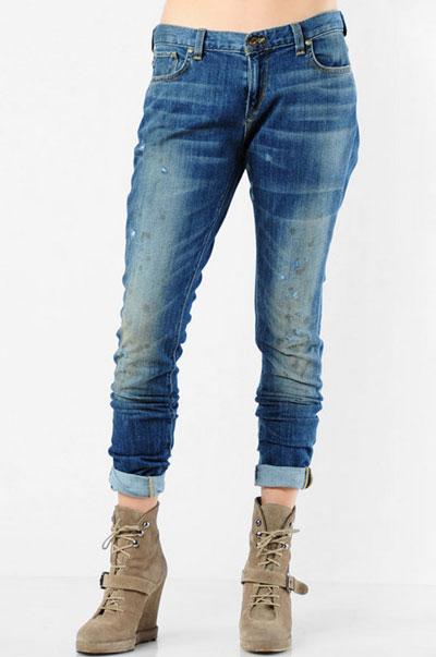 Women carrot jeans