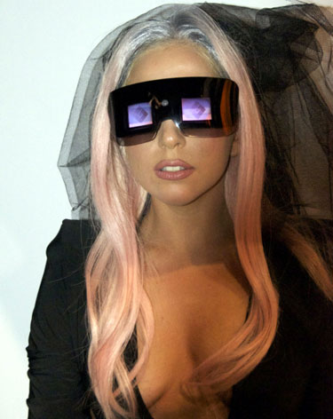 Lady Gaga Polaroid Sunglasses