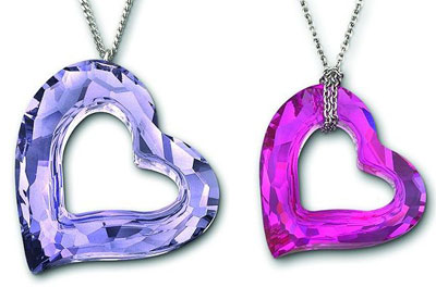 Swarovski gifts for St. Valentines Day