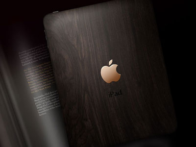 iPad Gresso, African Blackwood and gold